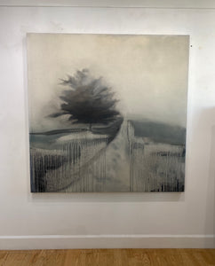 "Shane Townley- ""THE PATH I Landscape"" 72""x48"" Contemporary Landscape Art"