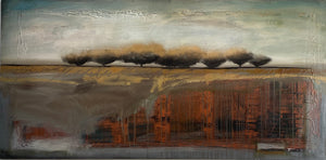 "Shane Townley-"" BURIED"" 36'x72"" Contemporary Landscape Art"