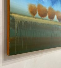 "Load image into Gallery viewer, Shane Townley-""RAINING OIL"" 36""x72""  Contemporary Landscape Art"