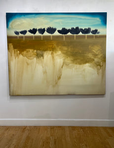 "Shane Townley- ""BLEND"" 60""x72"" Contemporary Landscape Art"