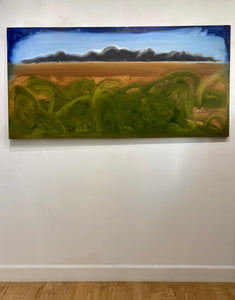 "Shane Townley-""Laguna Beach"" 36""x72"" Contemporary Landscape Art"