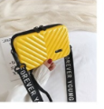 2019 New Suitcase Shape Totes Fashion Mini Luggage Bag Women