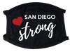 San Diego Strong Face Mask