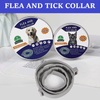 Flea and Tick 8 Month Prevention Collar For Large/Small Dogs, Cats
