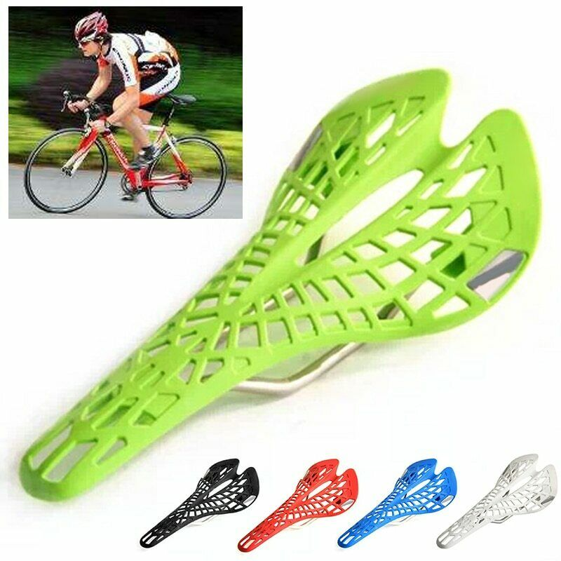 Hot Selling Inbuilt Saddle Suspension Lightweight Plastic Bicycle Bike Saddle Seat Cushion