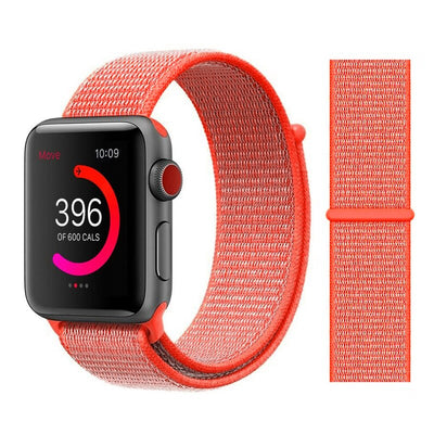 Soft Breathable Replacement Strap Sport Loop for iwatch series