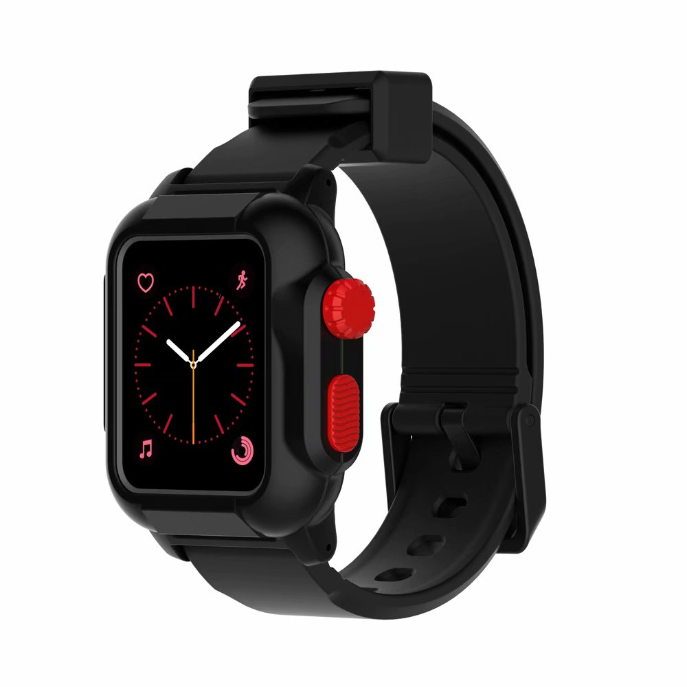 Waterproof Box Case and Strap for Apple Watch