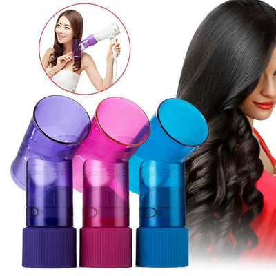DIY Hair Dryer Diffuser Hair Roller Drying Cap Blow Dryer Wind Curl Hair Dryer Cover Hair Care Barber Tools Salon Accessories