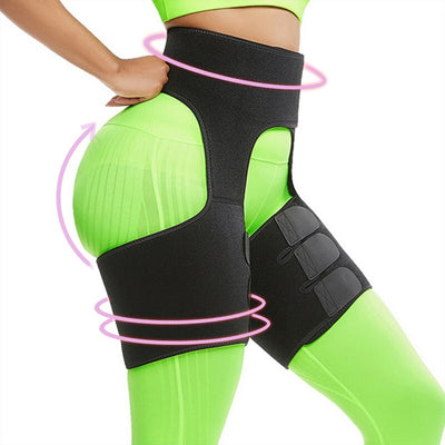 Neoprene Thigh Shaper Sweat Thigh Trimmers Leg Shaper Lose Weight Slimming Belt Butt Lifter Compress Belt