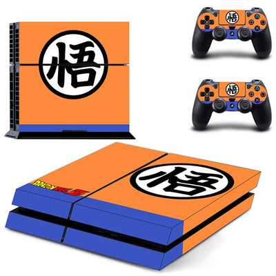 Dragon Ball Super PS4 Stickers Play station 4 Skin Sticker Decals Cover For PlayStation 4 PS4 Console and Controller Skins Vinyl