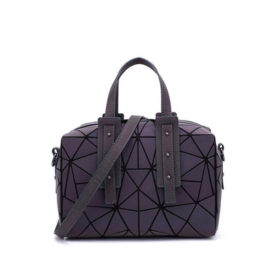 LOVEVOOK women handbag with top handle crossbody bags for ladies 2020 large capacity geometric pillow bag holographic reflection