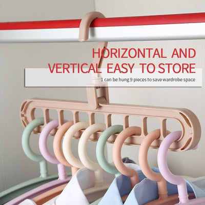 Handy House Clothes Hanger Stand Multiport Clothes Rack