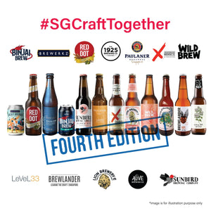 SGCraftTogether Local Breweries 12 Pack (4th Edition)