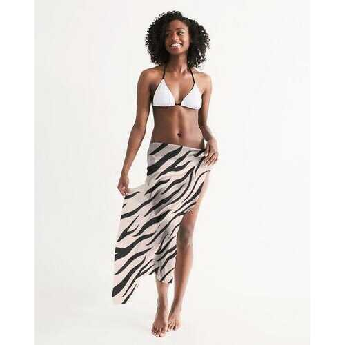 Womens Wrap, Pinkly Wild Sheer Swimsuit Cover