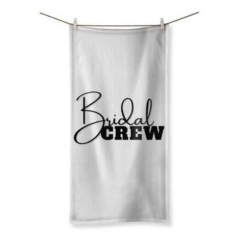 Bridal Crew Graphic Style Towel
