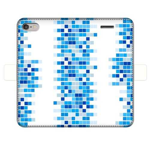 Mosaic Squares Graphic Style Wallet Case