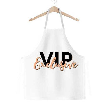 Vip Exclusive Black Graphic Classic Adult Apron