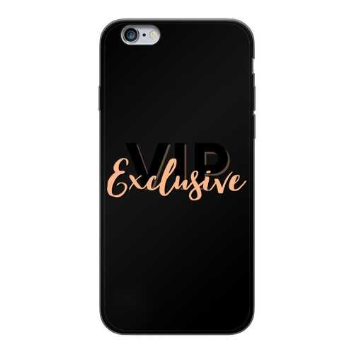 Vip Exclusive Black Graphic Back Printed Black Soft Phone Case