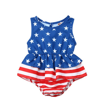 4th Of July Infant Newborn Infant Baby Girl Boys