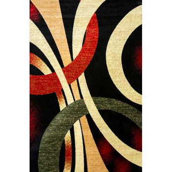 Alida Lopped Multicolor Area Rug 5 ft. by 7 ft.