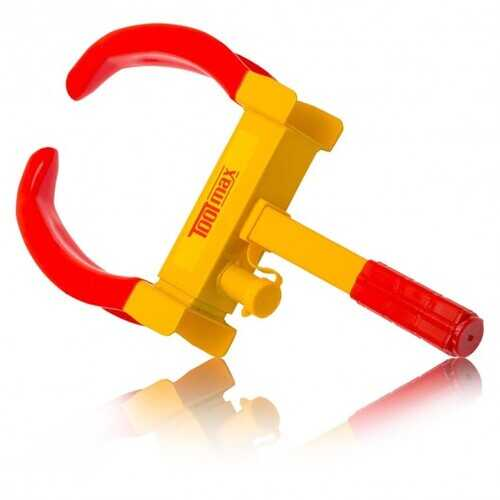 Wheel Lock Tire Claw Trailer Auto Car Clamp