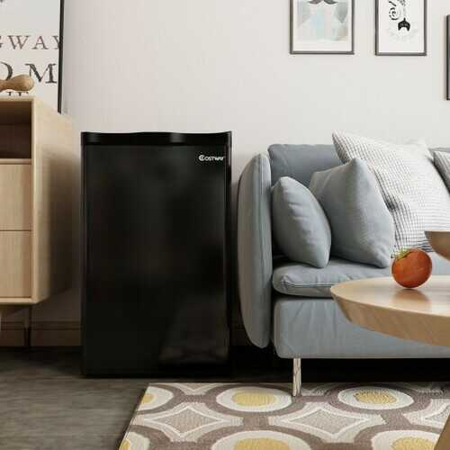3.2 cu.ft. Mini Dorm Compact Refrigerator -Black