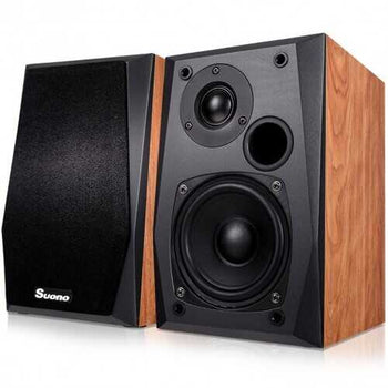 Wall-mount Professional Passive Bookshelf Speakers w/ 4