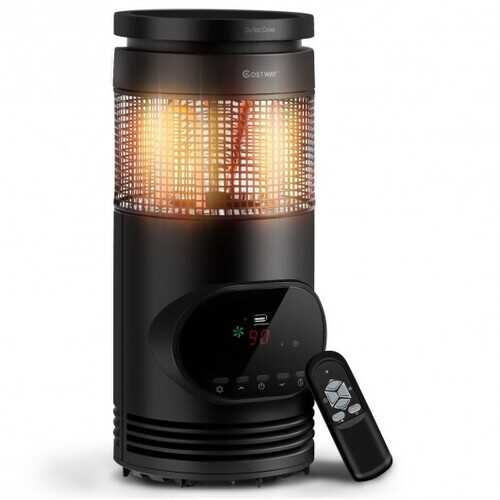 1500 W Adjustable Thermostat Portable Electric Space Heater