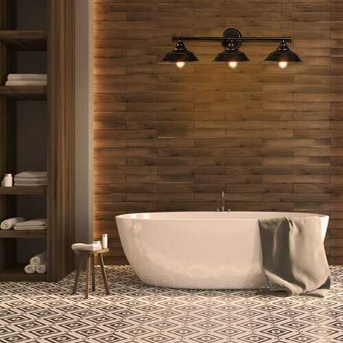 3-Light Modern Bathroom Wall Sconce Wall Lamp