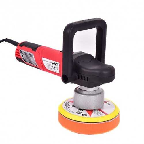 "6"" Variable Speed Dual-Action Polisher Random Orbital Polisher Kit Auto Detail"