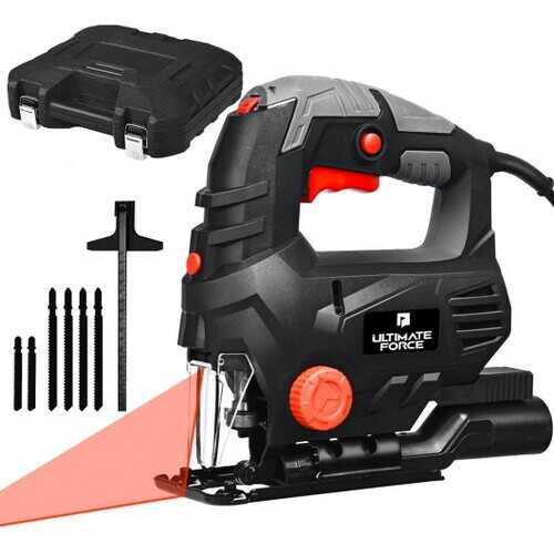 800W Electric Laser Jigsaw with 4 Orbital Sets