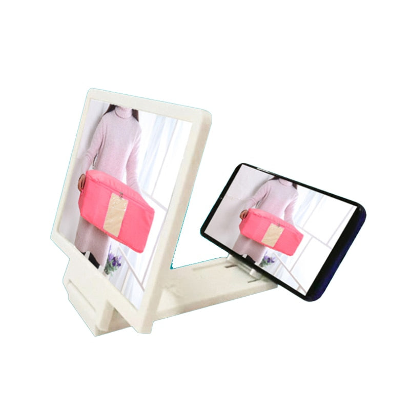 For Video Movie Screen Radiation Protection Holder Foldable 3D HD Screen Amplifier Mobile Phone Magnifying Glass Stand Enlarged