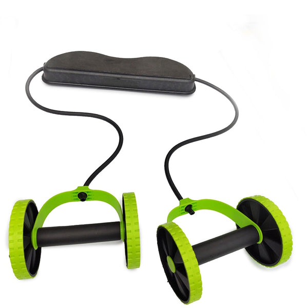 ITSTYLE Ab Roller Wheel Abdominal Trainer Wheel Arm Waist Leg Exercise Multi-functional Fitness Equipment Exercise