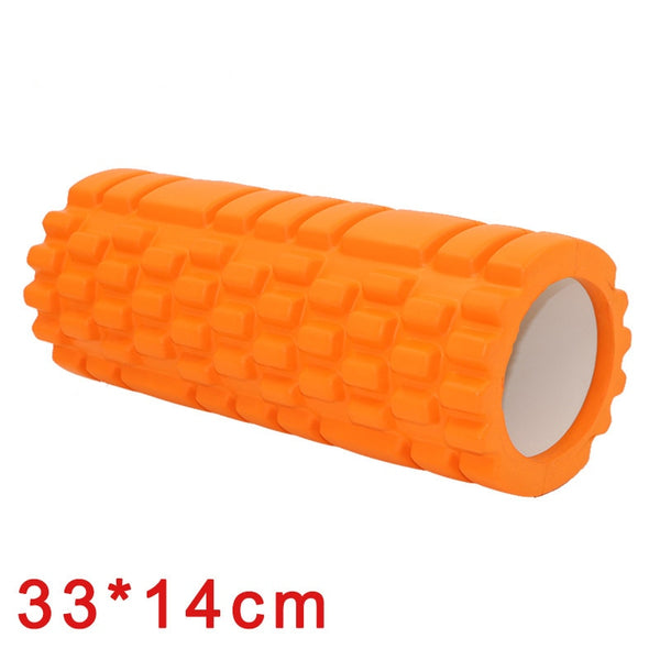 Larger Yoga Fitness Foam Yoga Pilates Roller blocks Massage Trigger Point Therapy