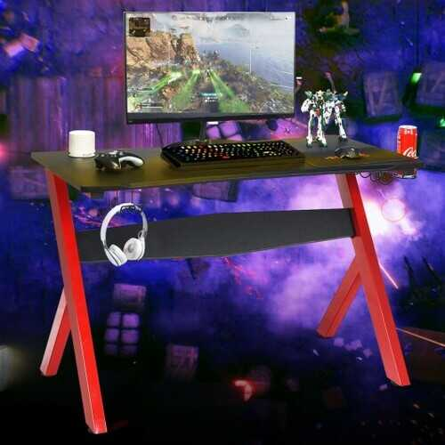 SEDETA Cup & Headphone Holder and Mouse Pad Gaming Desk