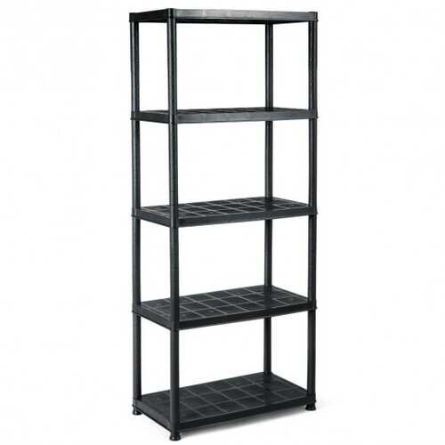 5-Tier Storage Shelving Unit Heavy Duty Rack for Kitchen Room Garage to Save Space