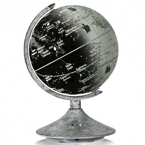 3-in-1  LED World Globe with Illuminated Star Map