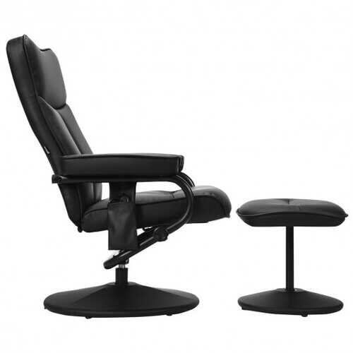 Electric Massage Recliner Chair with Ottoman and Remote Control