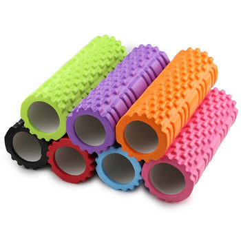 Yoga Fitness Foam Yoga Pilates Roller blocks Massage Trigger Point Therapy