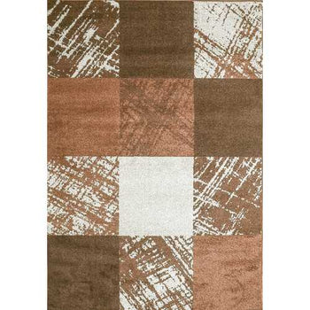 Caramel Drizzle Brown Beige Area Rug 5 ft. by 7 ft.