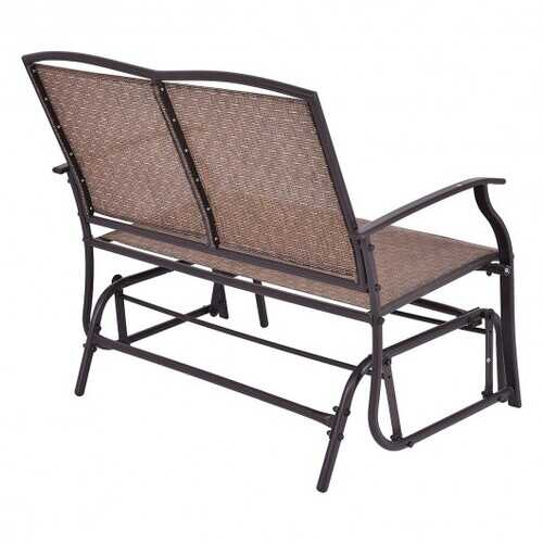 Patio Glider Rocking  2 Person Outdoor Bench