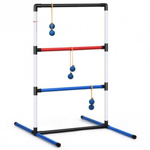 Ladder Ball Toss Game Bolas Score Tracker Carrying Bag