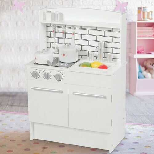 Kids Pretend Kitchen Play-set Cooking Toys