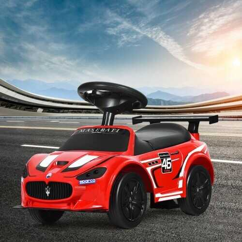 Kids Toy Maserati Ride On Push Car Gliding Scooter
