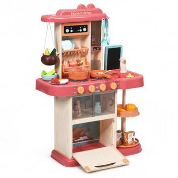 Kitchen Playset with Simulation of Spray & Realistic Lights & Sounds