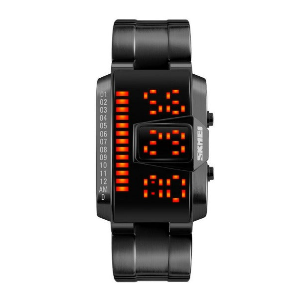 Fashion Men Watch Waterproof Creative LED Digital Watch