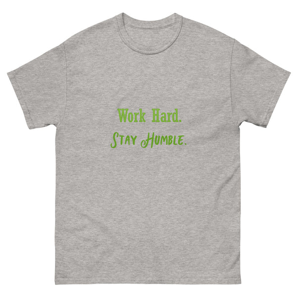 Work Hard Men's heavyweight tee