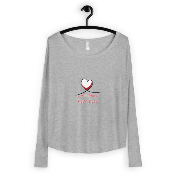 Love More Ladies' Long Sleeve Tee
