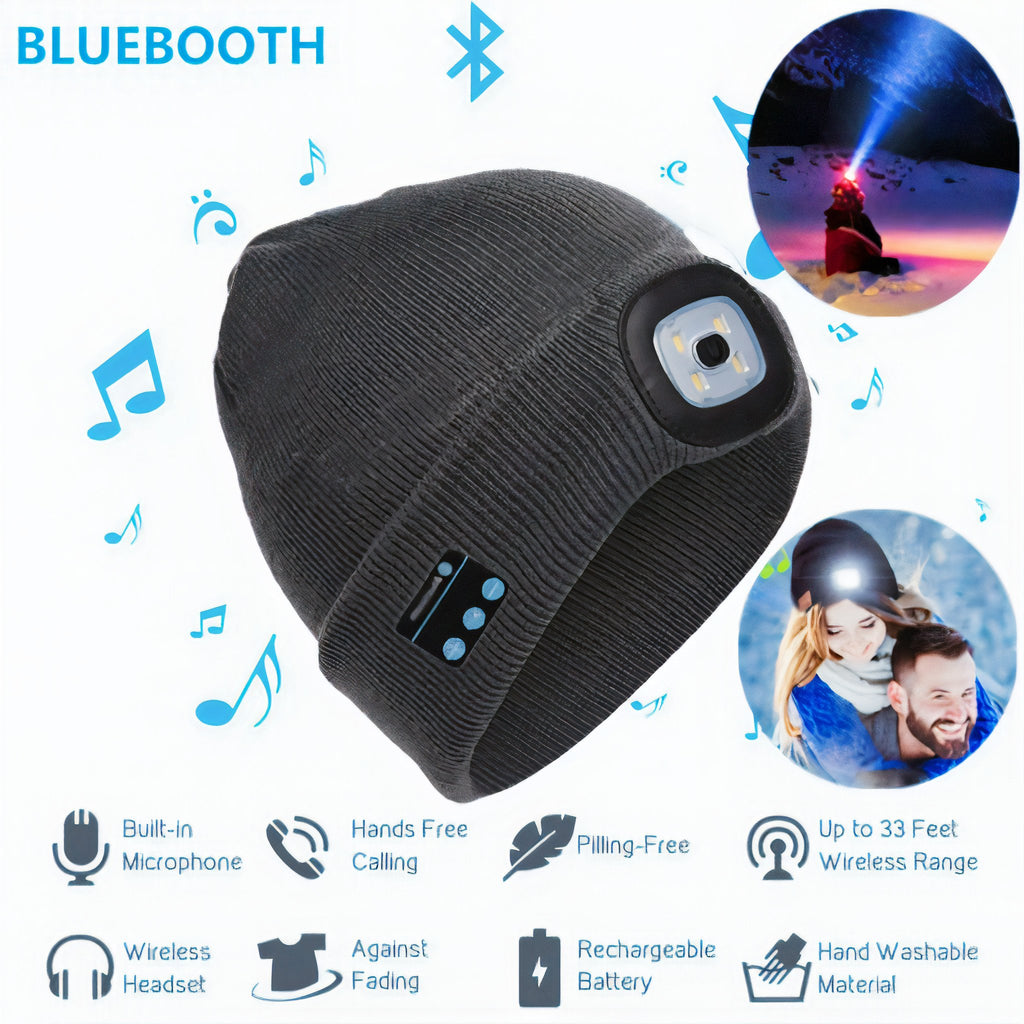 beanie with bluetooth