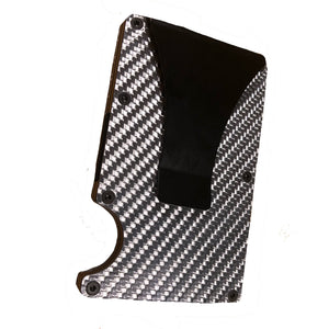 Carbon Fiber RFID Blocking Wallet Money Clip Card Holder - Resolute Rambler